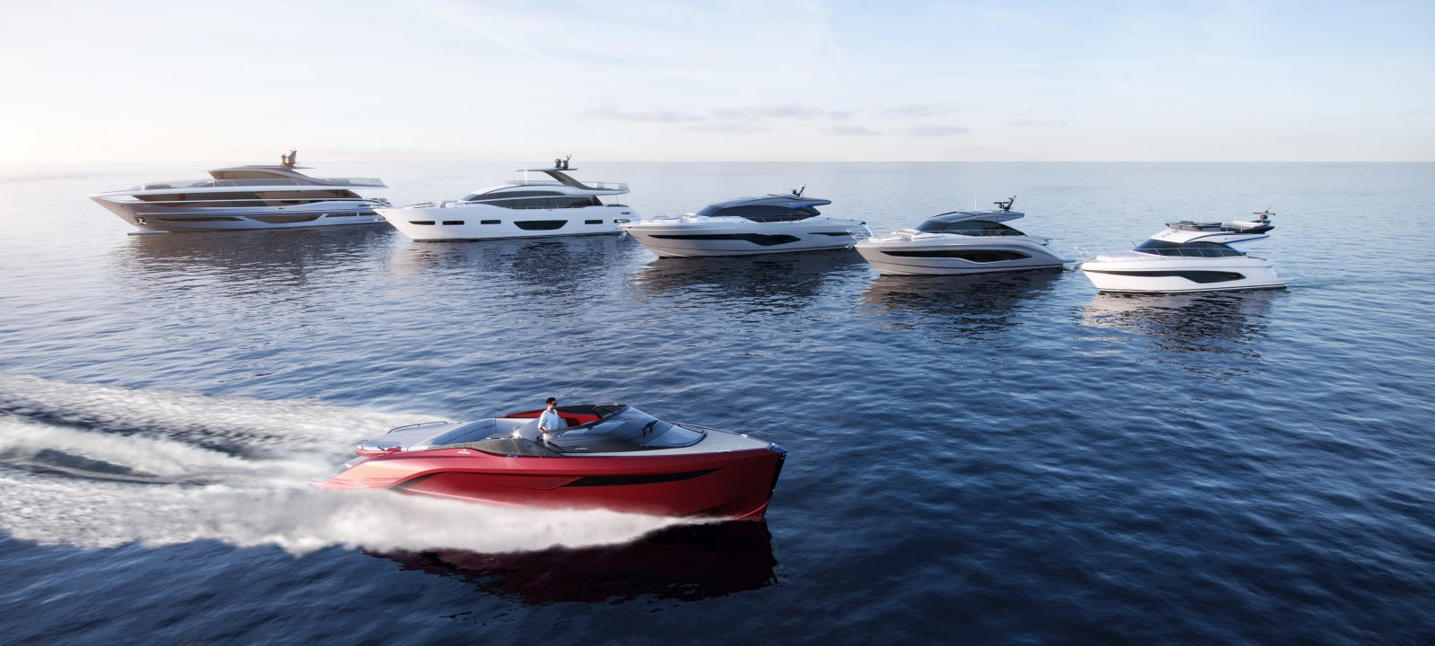 Six new yachts