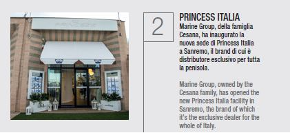 New Princess Yachts Italy headquarter in Sanremo Portosole