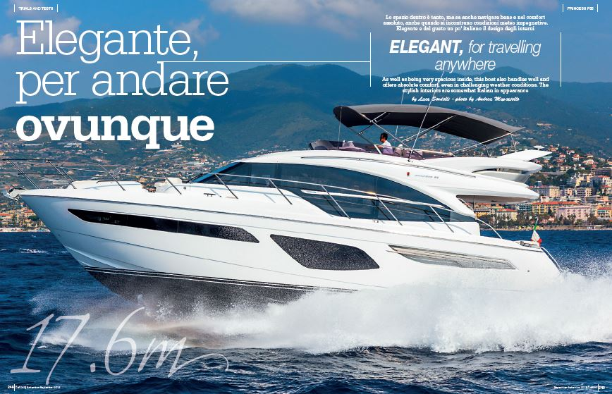 Princess 55: elegant, for travelling anywhere