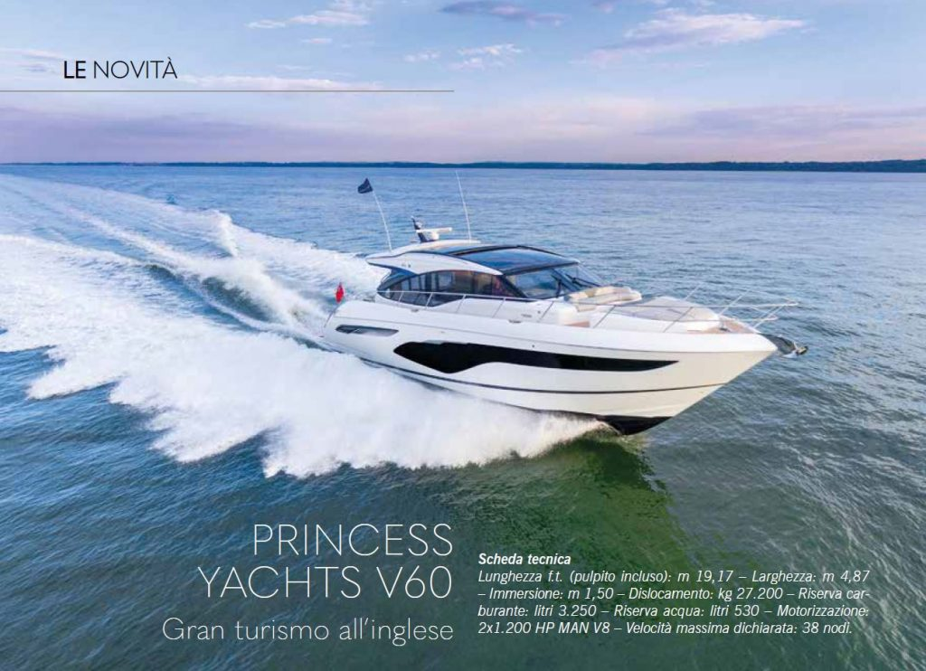 Princess V60: Gran Turismo all'inglese