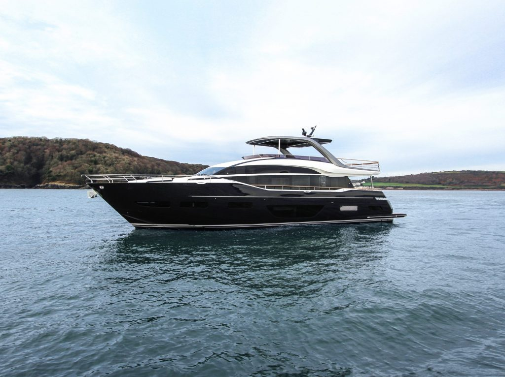 The All-New Princess Yachts Y85 Flybridge Motor Yacht