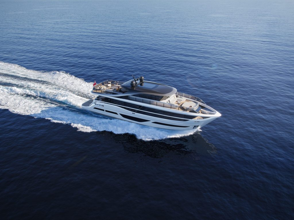 The Princess X95 'Superfly' establishing a new Class on the water