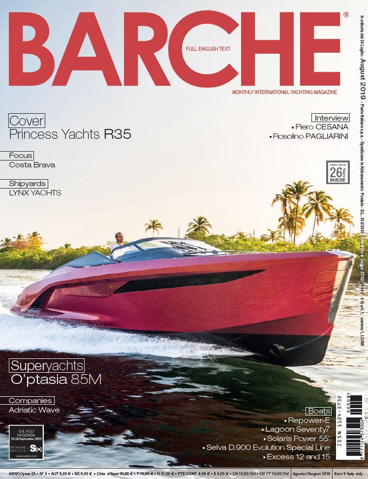 Princess R35: performance sport yacht