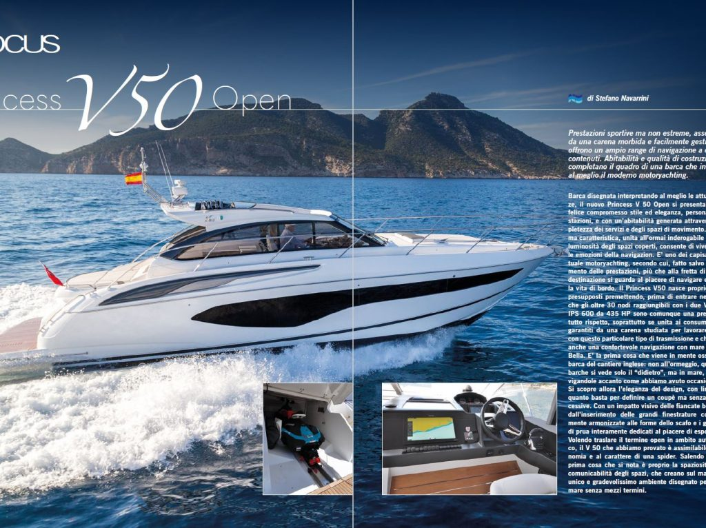 Princess V50 Open
