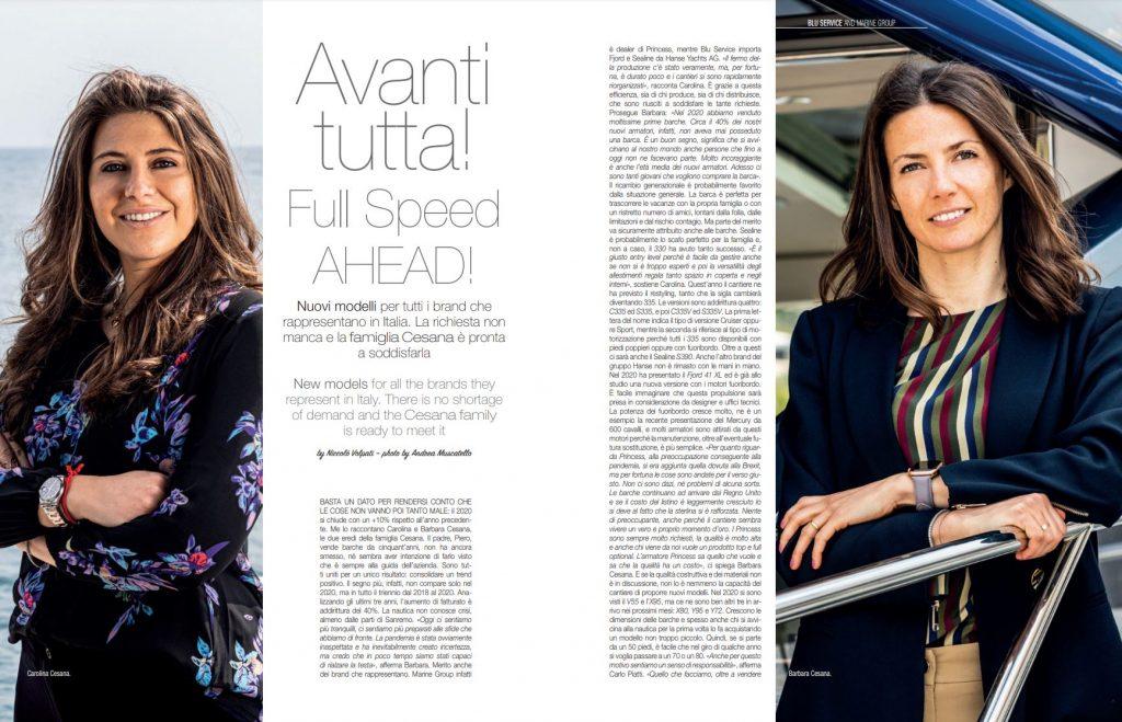 Intervista Cesana: Avanti tutta!